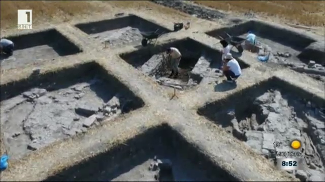 Пътуване в миналото: Базилика в полето на Кермен