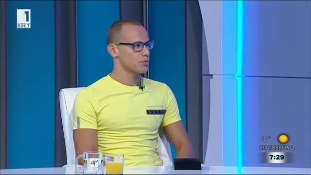 Антъни Иванов: Медалът ми костваше година лишения, за което не съжалявам
