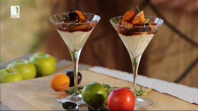Мариновани плодове на барбекю