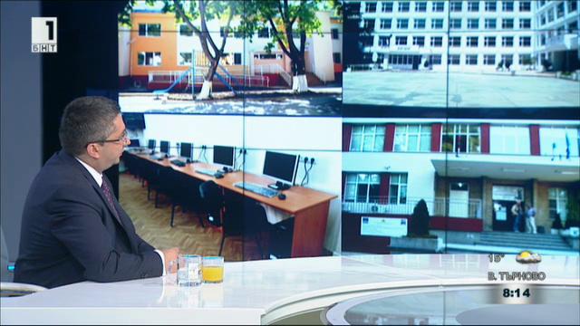 Николай Нанков: 624 млн. лева ще достигнат до образователните заведения