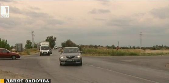 Опасно кръстовище край Пловдив