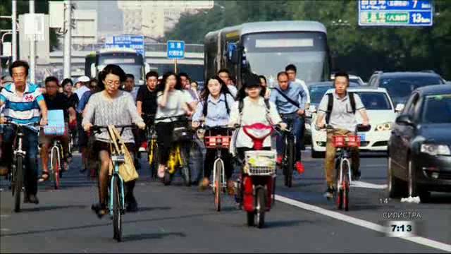 Велосипедна революция в Китай