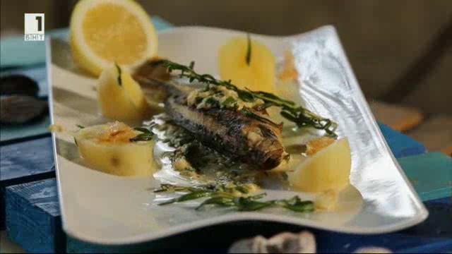 Пържена риба в яйчен сос
