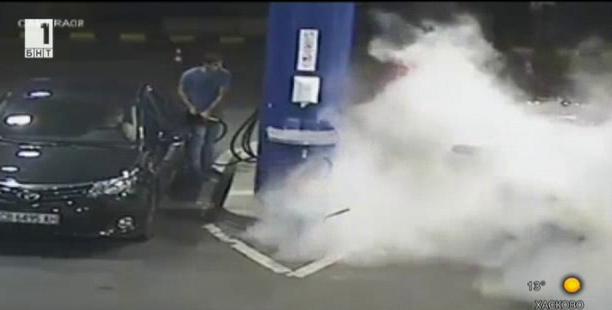 Съд за служителя, предотвратил взрив на бензиностанция?!