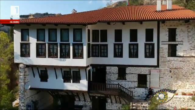 Кордопуловата къща в Мелник - архитектурна перла на Балканите