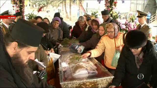 Най-многолюдното поклонение в православна Румъния