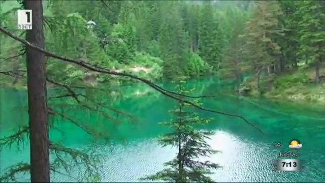 Зеленото езеро на Австрия