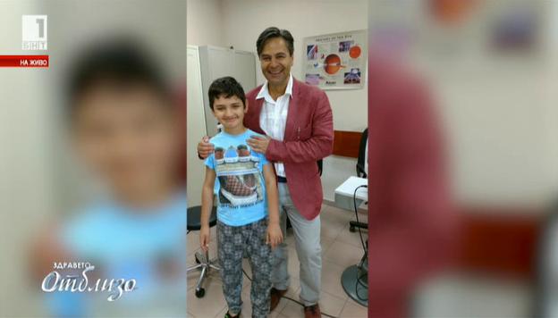Уникална операция спаси зрението на 8-годишно момче