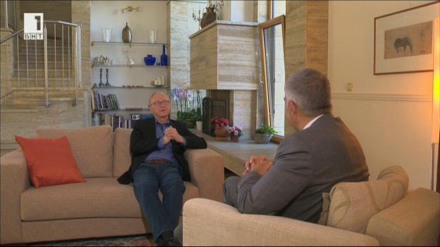 Израелският писател Давид Гросман: Докато имаш въображение, имаш и надежда