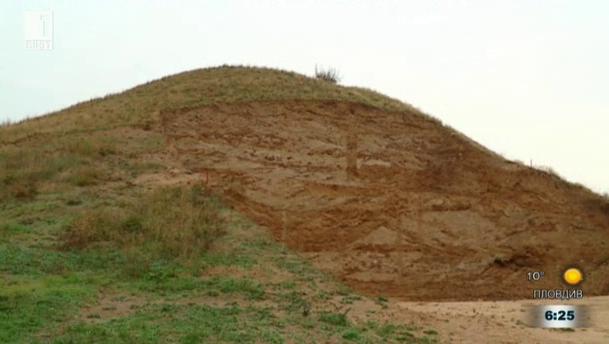 Археологически разкрития на могилата Малтепе