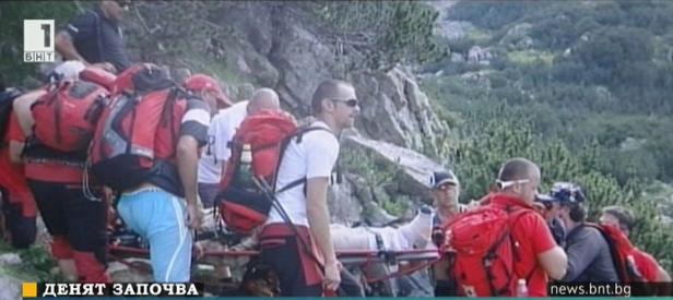 Двама лекари сред планинските спасители в Банско