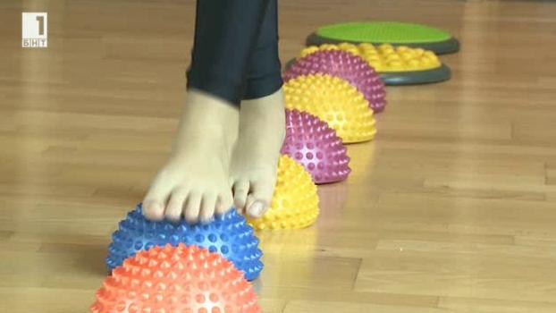 Упражнения срещу плоскостъпие при децата