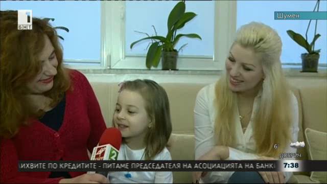4-годишното дете дари косата си за онкоболни