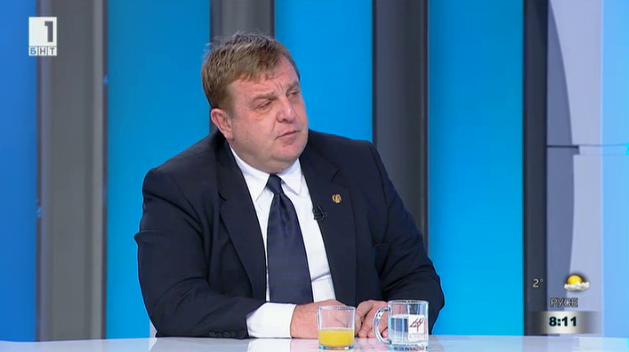 Красимир Каракачанов: В Обединени патриоти няма напрежение