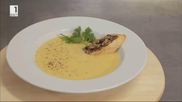 Маслена зеленчукова крем супа