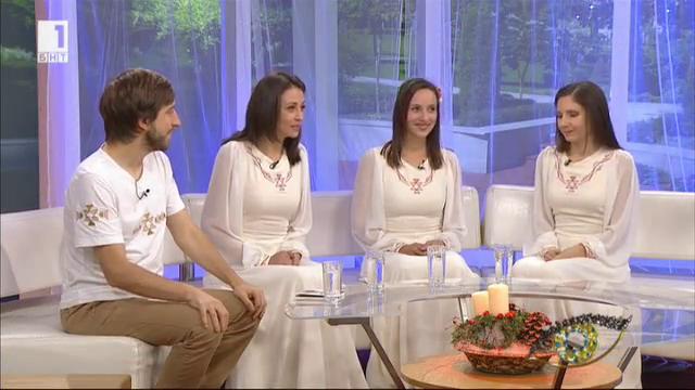 Иван Шопов и Авигея - среща на електронната музика и българския фолклор
