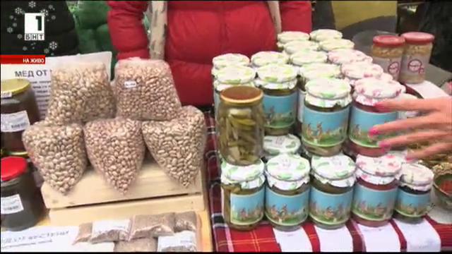 Фермерски базар в София