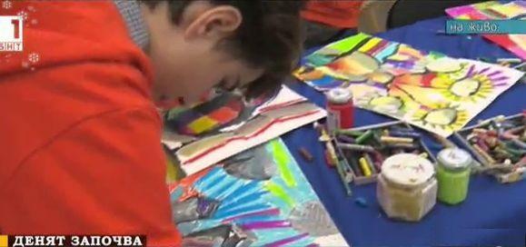 Благотворителен търг на ученически рисунки в помощ на онкоболни