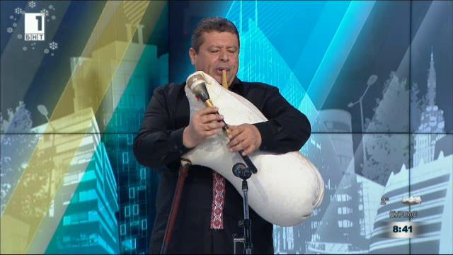Традиция и бъдеще - гайдарят Петър Янев