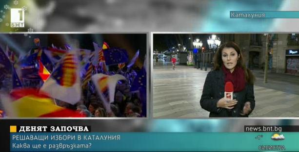 На живо: Преди началото на изборите в Каталуния