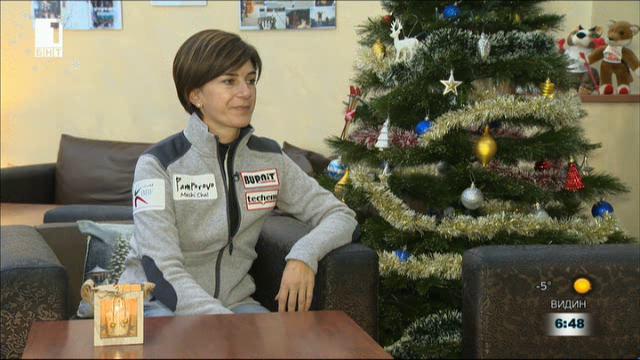 Олимпийски триумф на 20 - коледната магия за Екатерина Дафовска