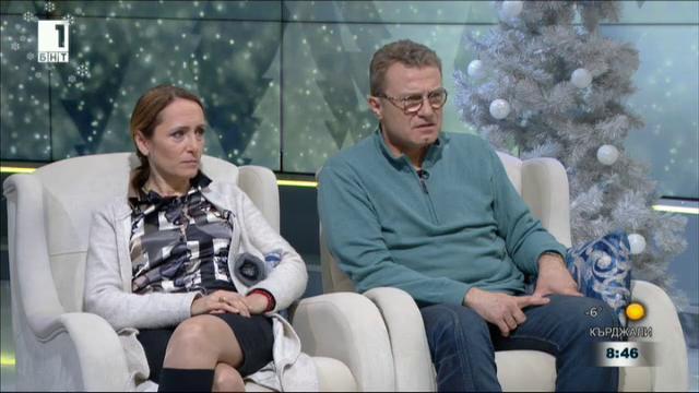 Емил Марков и Албена Павлова - гости в Извън играта
