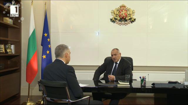 Годината в изводи – премиерът Бойко Борисов за Панорама