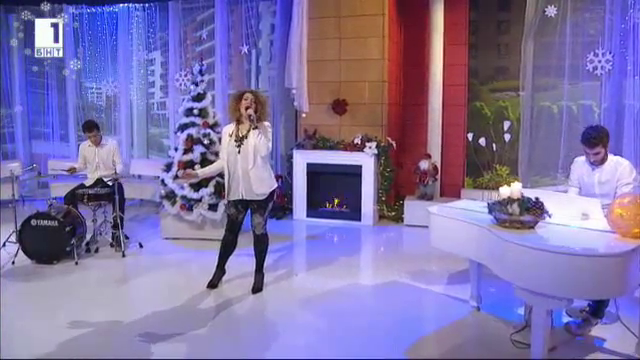 Нора Караиванова с Бяла Коледа в Отблизо с Мира Добрева