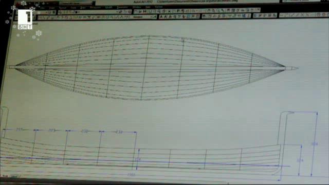 Технология при построяването на тракийски птицеглав кораб