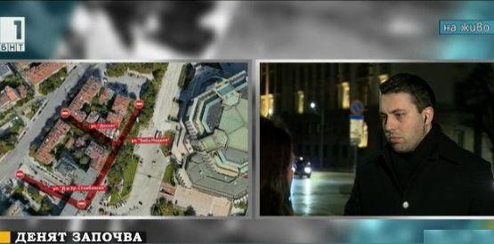 Евгени Крусев: Няма да има промяна в обществения транспорт около НДК