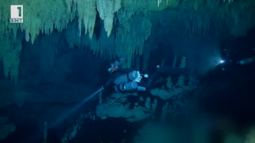 Белите пещери на Мексико
