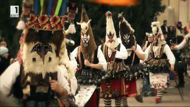 Сурвакарите от село Долна Секирна
