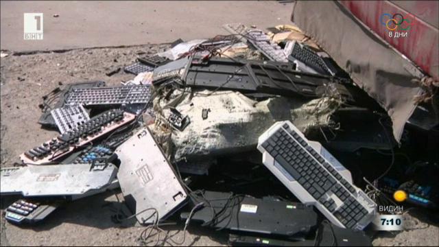 Преработката на електронни отпадъци - доходна индустрия в Китай