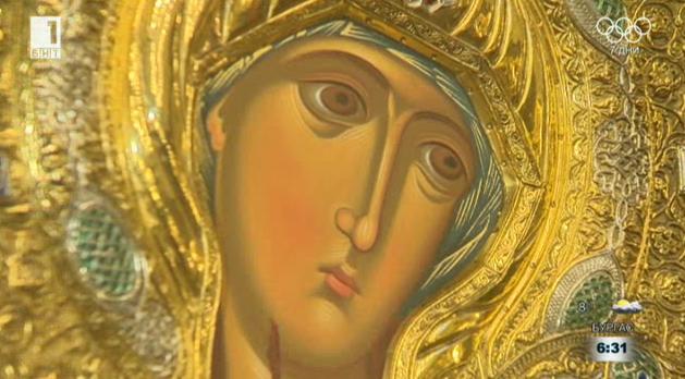 Чудотворна икона на Света Богородица дойде в София