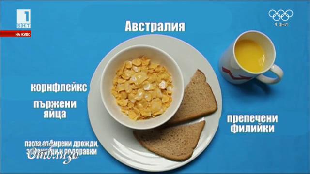 Здраве в чинията: Традиционните закуски по света