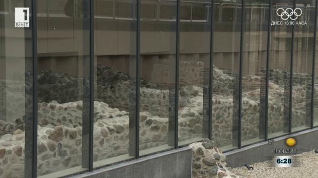 Галерия за съвременно изкуство в подземието на бившия мавзолей