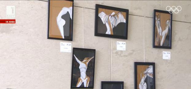 Ретроспективна изложба живопис с избрани творби на Мая Цанкова