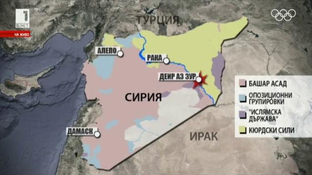 Нефт, газ и войната в Сирия