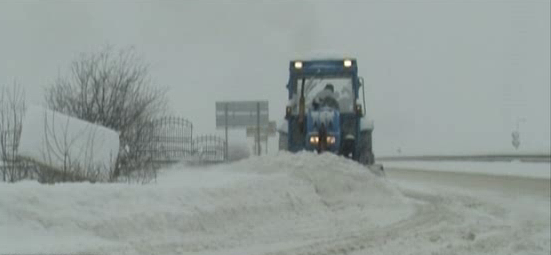 Сняг и пътища