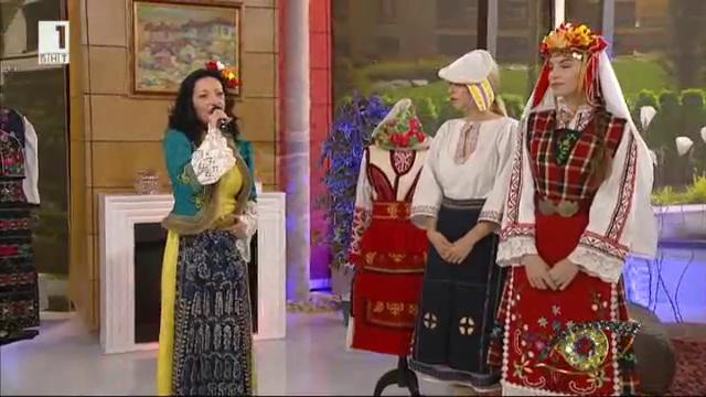 Отблизо: народната певица Соня Костуркова