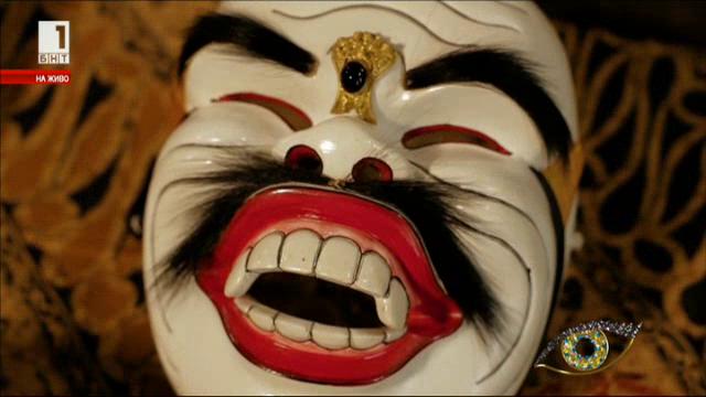 Единственият българин, който може да прави Балийски театър с маски