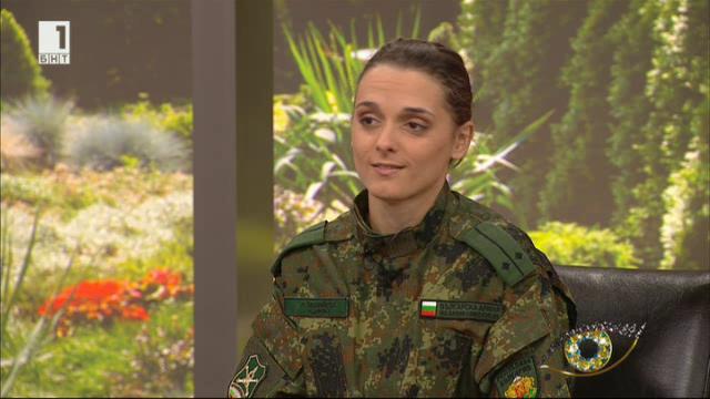 Женската сила в българските въоръжени сили