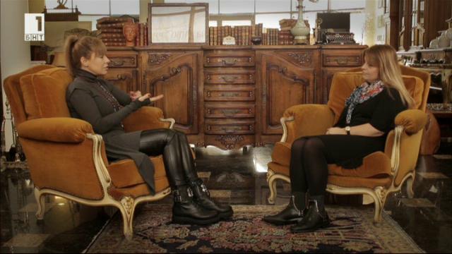 """""""Интервю в парка"""" с журналиста Мария Касимова"""