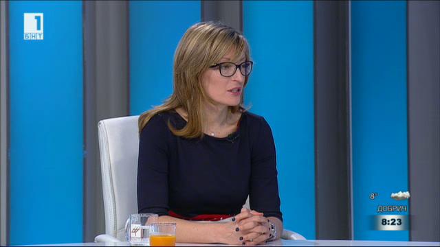 Кой говори на България? Министър Екатерина Захариева