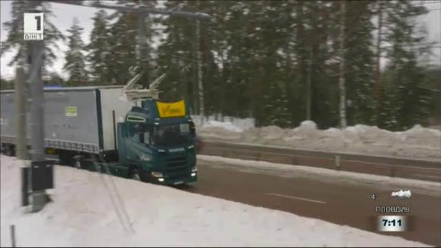 Хибридни камиони се движат вече в Швеция