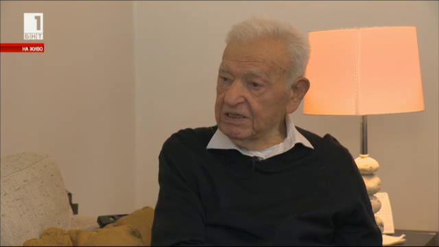 Доайенът на българската дипломация Борис Цветков навърши 100 години