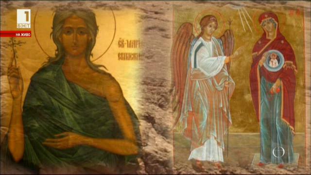Благовещение и неделята на св. Мария Египетска в един ден