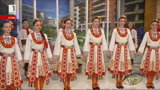 Танцът Кобилица на ансамбъл Чинари