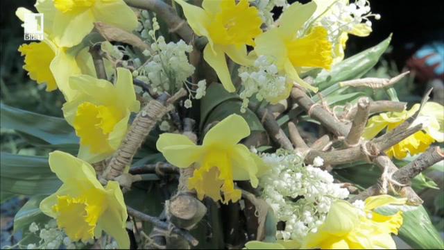 Как можем да направим букет за Цветница само със съчки от гората?