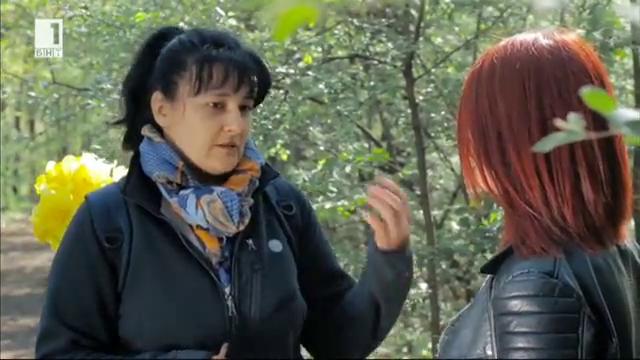 Букет със съчки от гората за Цветница